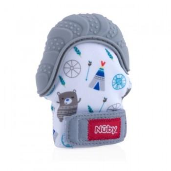 Nuby Luva Dentição Cinzento NBY-FED16