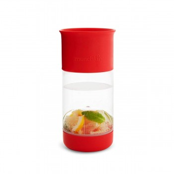 Munchkin Copo Miracle Infusor de Fruta Vermelho 414ml 051781