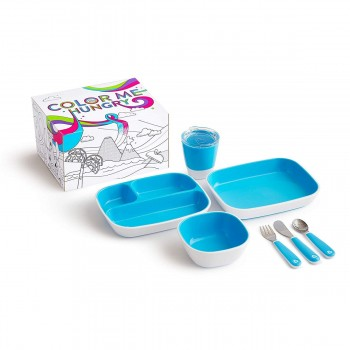 Munchkin Conjunto de Refeição Splash Azul 051913