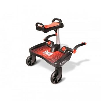 Plataforma BuggyBoard Maxi Vermelho + Assento Vermelho Lascal LAS2550