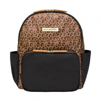 Petunia Pickle Bottom Mochila District Leopard Leatherette PEDICB63400