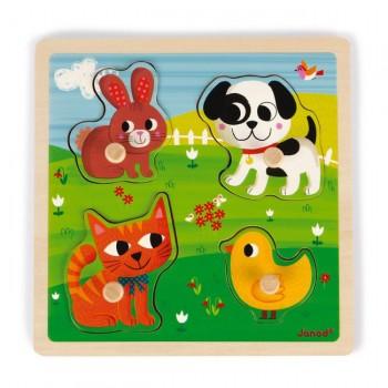 Janod Puzzle Os Meus Primeiros Animais +12M J07080