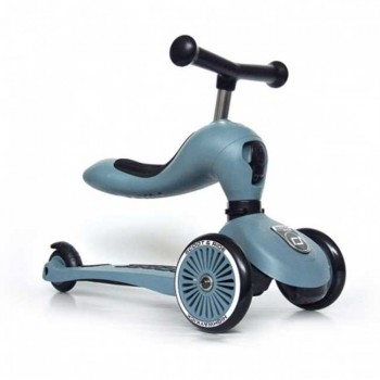 Highwaykick Scoot and Ride Trotineta One Steel 3418