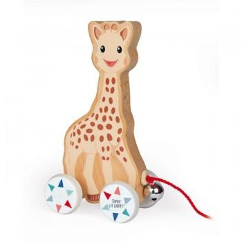 Janod Sophie la Girafe a Cordel +12M J09502