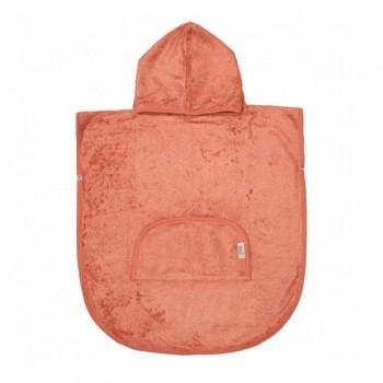 Timboo Poncho 1-4 Anos Apricot Blush TM-PONCH-533