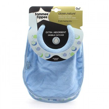 Tommee Tippee 2 Babetes Extra-Absorventes Azul