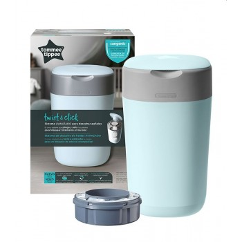 Tommee Tippee Contentos Sangenic Twist & Click Azul