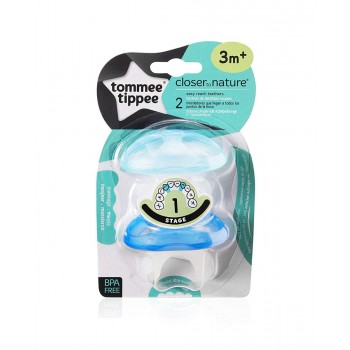 Tommee Tippee Mordedor Close to Nature Azul