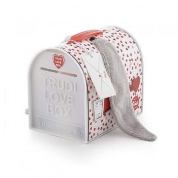 Trudi Peluche Love Box Burro Orelhas Grandes +0M