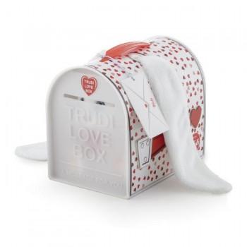 Trudi Peluche Love Box Coelho Orelhas Grandes
