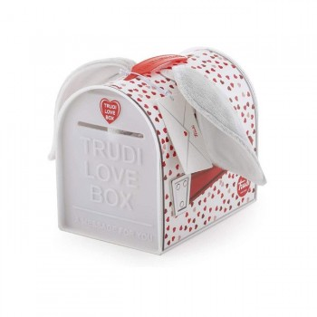 Trudi Peluche Love Box Elefante Orelhas Grandes +0M