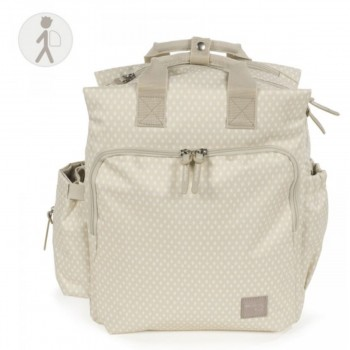 Walking Mum Mochila Muda Fraldas Happy Chic Bege 436098