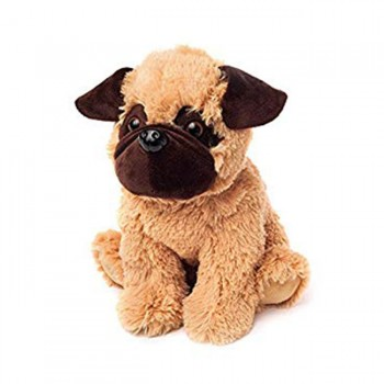 Warmies Plush Cão Pug para Aquecer no Microondas