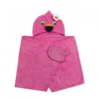 Zoocchini Toalha para Criança Flamingo ZOO-004-006