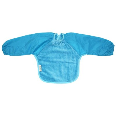 Babete Mangas Longas Toalha Azul Silly Billyz 18770