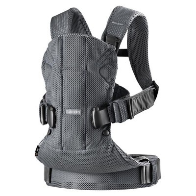 BabyBjörn Porta-Bebé Novo ONE Air Anthracite Mesh 098013