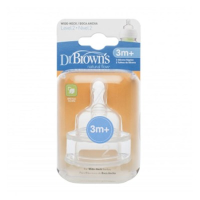 Dr. Brown's Tetina Options 3M Plus 2pk