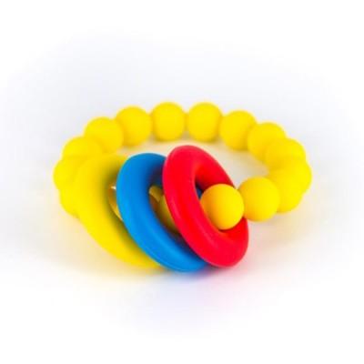 Lollipops & More Mordedor Bracelete Donut Amarelo