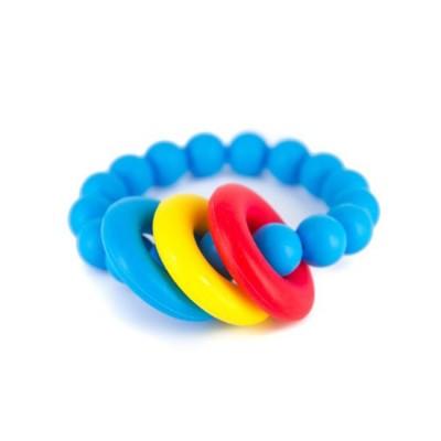 Lollipops & More Mordedor Bracelete Donut Azul