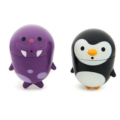 Munchkin 2 Brinquedos Banho Clean Squeeze Pinguim e Morsa 011203