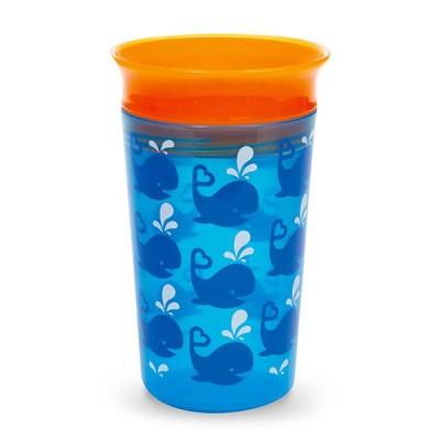 Munchkin Copo Miracle® 360º Deco Azul/Laranja 266ml 12295AL