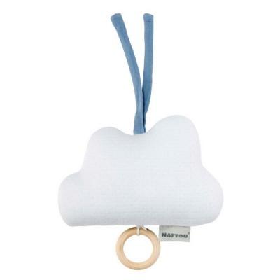 Nattou Pure Cotton Caixa de Música Nuvem Azul 11998284