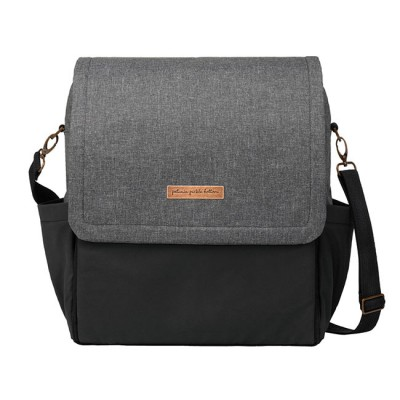 Petunia Pickle Bottom Mochila Boxy Graphite/Black PEBBCB54400