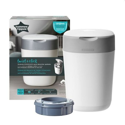 Tommee Tippee Contentor Sangenic Twist & Click Branco